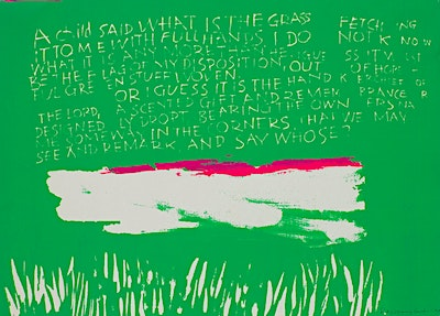 A Child Said What Is The Grass #1 Or #2